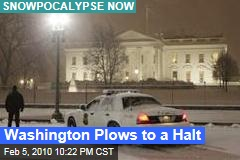 Washington Plows to a Halt
