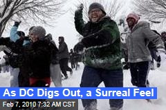 As DC Digs Out, a Surreal Feel