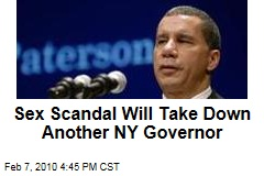 Sex Scandal Will Take Down Another NY Governor