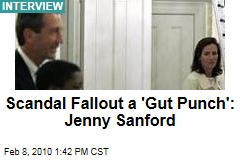 Scandal Fallout a 'Gut Punch': Jenny Sanford
