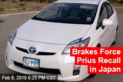 Brakes Force Prius Recall in Japan
