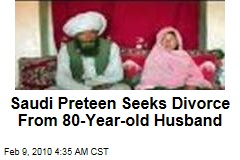 Saudi Preteen Seeks Divorce From 80-Year-old Husband