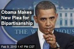 Obama Makes New Plea for Bipartisanship