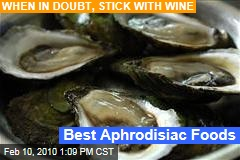 Best Aphrodisiac Foods