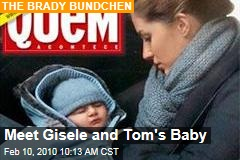 Meet Gisele and Tom's Baby