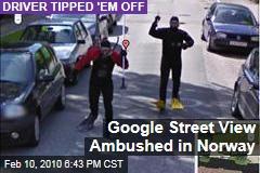 Google Street View Ambushed in Norway