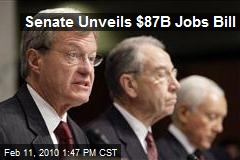 Senate Unveils $87B Jobs Bill