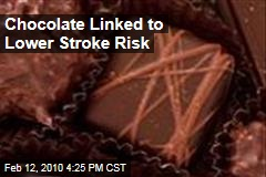 Chocolate Linked to Lower Stroke Risk