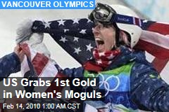 US Grabs 1st Gold in Women's Moguls