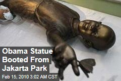 Obama Statue Booted From Jakarta Park
