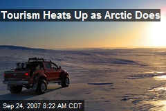 Tourism Heats Up as Arctic Does