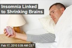 Insomnia Linked to Shrinking Brains