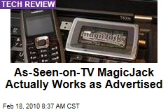 As-Seen-on-TV MagicJack Actually Works as Advertised