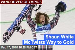 Shaun White McTwists Way to Gold