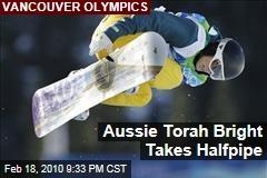Aussie Torah Bright Takes Halfpipe