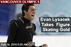 Evan Lysacek Takes Figure Skating Gold