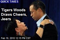 Tigers Woods Draws Cheers, Jeers