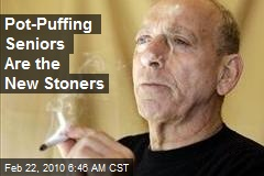 Pot-Puffing Seniors Are the New Stoners