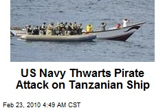 US Navy Thwarts Pirate Attack on Tanzanian Ship