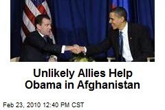Unlikely Allies Help Obama in Afghanistan