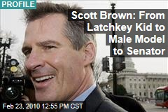 Scott Brown: From Latchkey Kid to Male Model to Senator