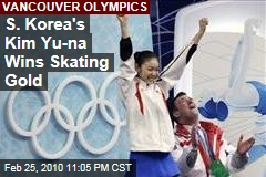 S. Korea's Kim Yu-na Wins Skating Gold