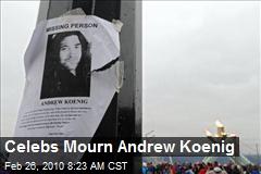 Celebs Mourn Andrew Koenig
