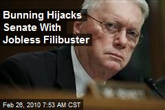 Bunning Hijacks Senate With Jobless Filibuster