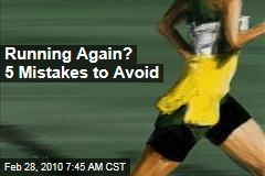 Running Again? 5 Mistakes to Avoid