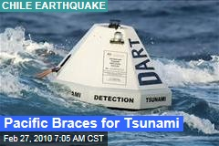 Pacific Braces for Tsunami