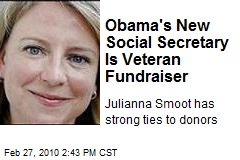 Obama's New Social Secretary Is Veteran Fundraiser