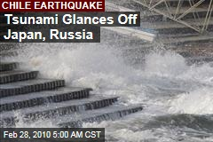 Tsunami Glances Off Japan, Russia