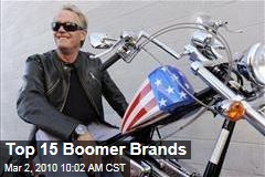 Top 15 Boomer Brands