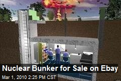 Nuclear Bunker for Sale on Ebay