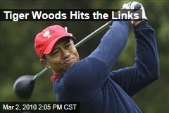 Tiger Woods Hits the Links