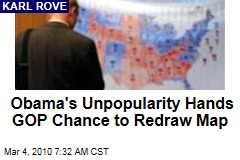Obama's Unpopularity Hands GOP Chance to Redraw Map