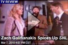 Zach Galifianakis Spices Up SNL