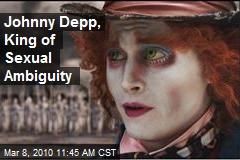 Johnny Depp, King of Sexual Ambiguity