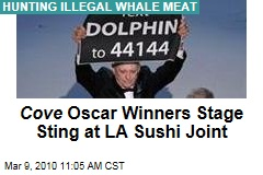 Cove Oscar Winners Stage Sting at LA Sushi Joint