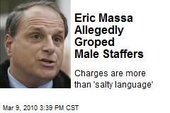 Eric Massa Allegedly Groped Male Staffers