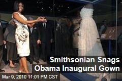 Smithsonian Snags Obama Inaugural Gown