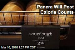 Panera Will Post Calorie Counts