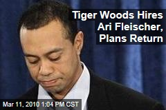 Tiger Woods Hires Ari Fleischer, Plans Return