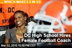 DC High School Hires Female Football Coach