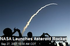NASA Launches Asteroid Rocket