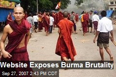 Website Exposes Burma Brutality