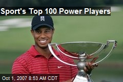 Sport's Top 100 Power Players