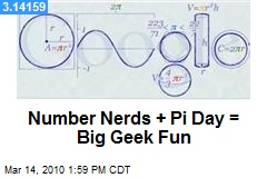 Number Nerds + Pi Day = Big Geek Fun