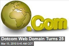 Dotcom Web Domain Turns 25