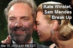 Kate Winslet, Sam Mendes Break Up